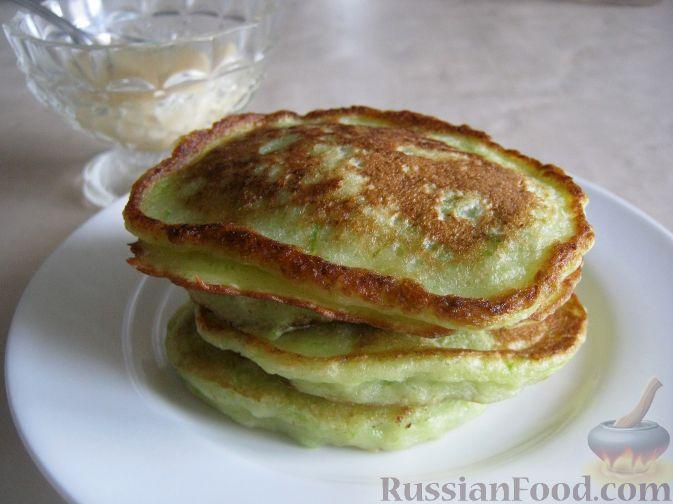 Рецепт Сладкие оладушки из кабачков