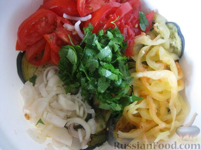 рецепты приготовления салатов из помидор