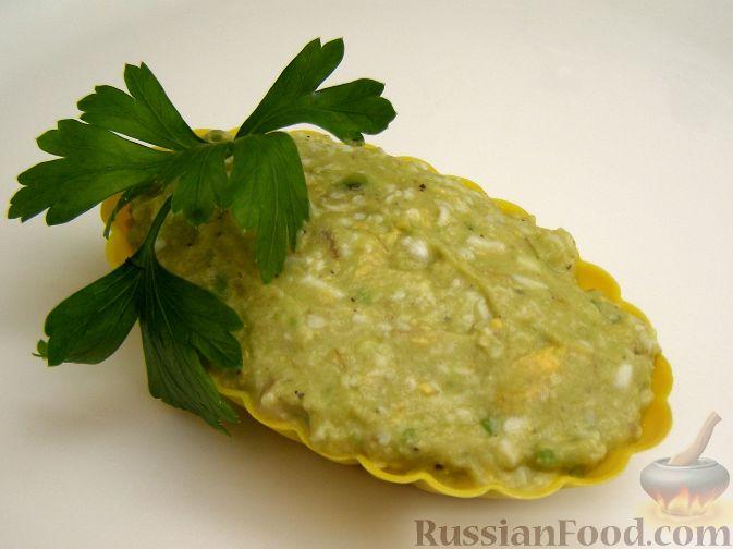 Рецепт Салат-паштет из авокадо с яйцом