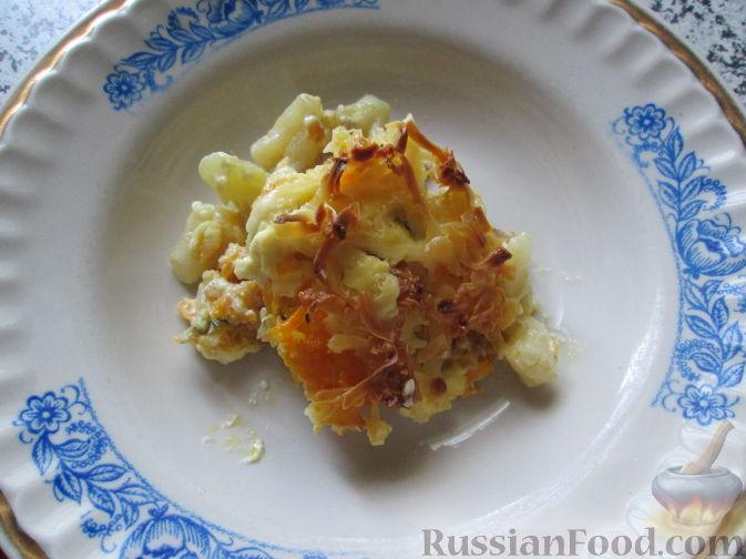 Рецепт Запеканка из цветной капусты с фаршем