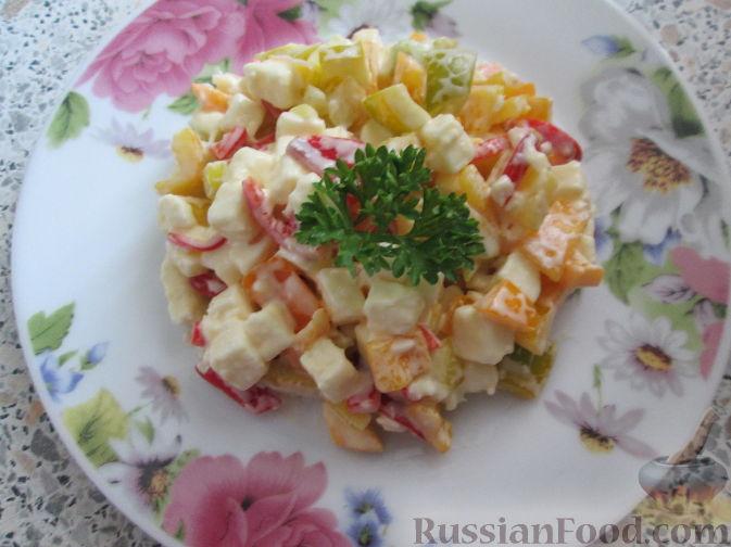 """Рецепт Салат """"Перец"""""""