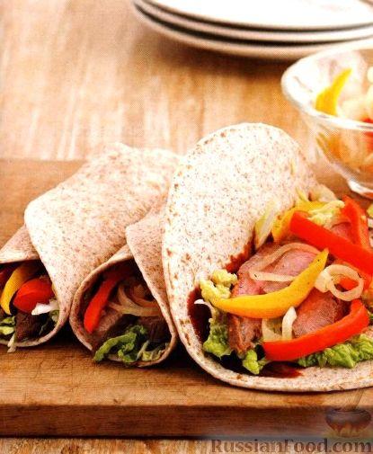 Рецепт Закуска из мяса и овощей