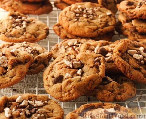 Рецепт Печенье с шоколадными конфетами
