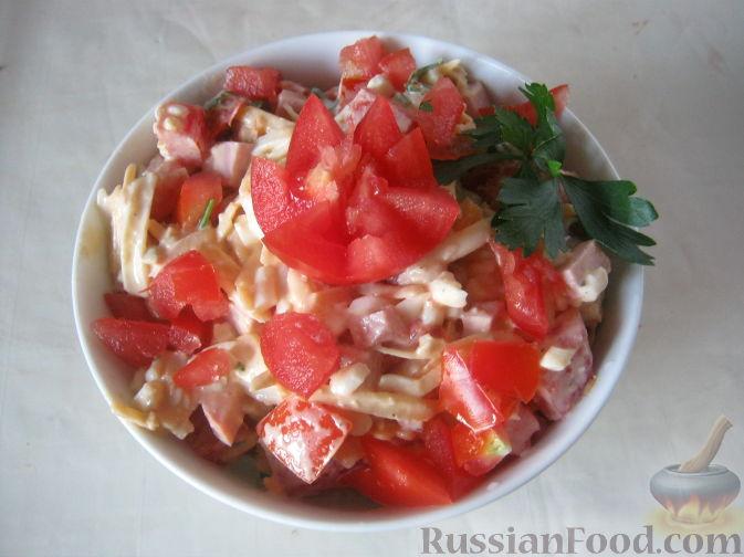 """Рецепт Салат """"Елена"""" с ветчиной"""
