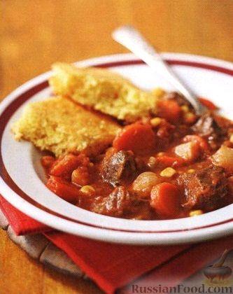 Рецепт Рагу из замороженных овощей и говядины (в медленноварке)
