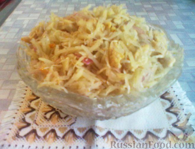 Салат картофель