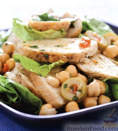 Рецепт Кубинский куриный салат