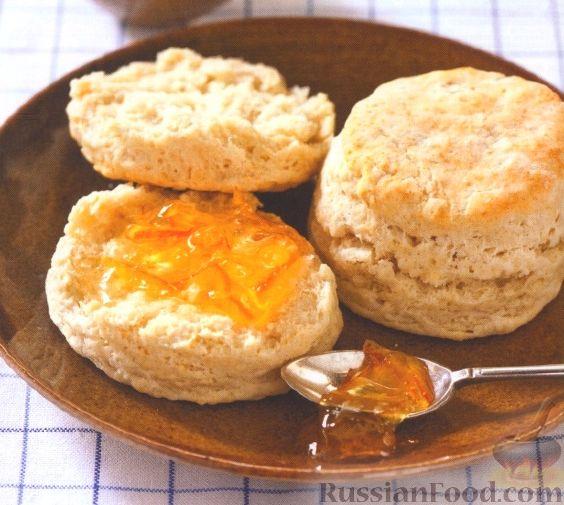 Рецепт Печенье-булочки из песочного теста