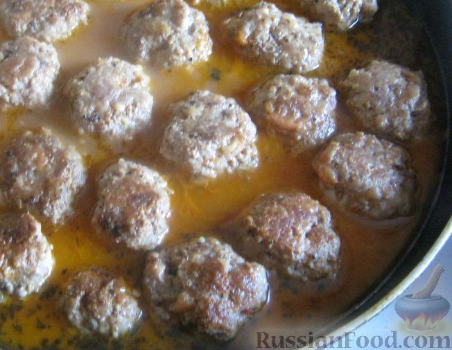 Рецепт Мясные тефтели с сыром