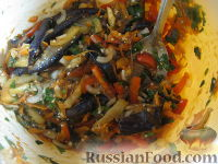 Фото приготовления рецепта: Баклажаны по-корейски - шаг №11