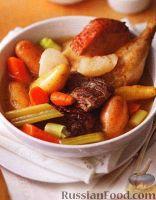 Фото к рецепту: Рагу из овощей и мяса (в медленноварке)