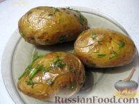 Фото к рецепту: Картофель, запеченный в фольге