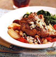 Фото к рецепту: Баранина с овощами и фасолью (в медленноварке)