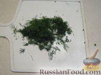 Фото приготовления рецепта: Окрошка на кефире - шаг №5