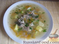 Фото приготовления рецепта: Уха из карася - шаг №13