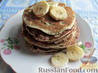 Фото к рецепту: Банановые панкейки