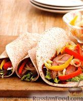Фото к рецепту: Закуска из мяса и овощей