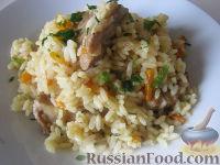 Фото к рецепту: Узбекский плов (в мультиварке)