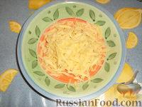 Фото приготовления рецепта: Помидоры, запеченные с сыром - шаг №3
