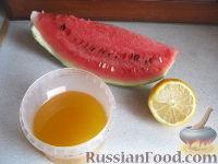 Фото приготовления рецепта: Арбузный смузи - шаг №1