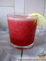 Фото приготовления рецепта: Арбузный смузи - шаг №5