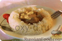 Фото к рецепту: Печень в сырном соусе (в мультиварке)