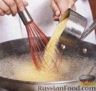 Фото приготовления рецепта: Полента с баклажанами в сковороде - шаг №1