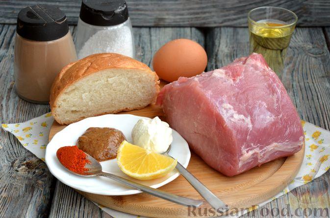 Фото изготовления рецепта: Шницель из свинины в хлебной панировке - шаг №1