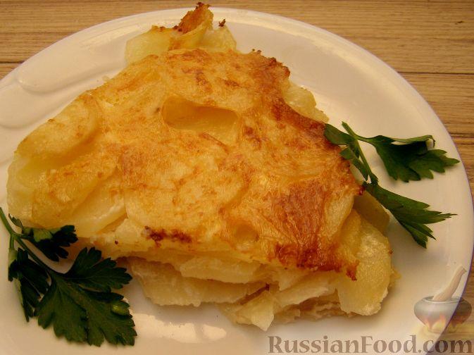 Рецепт Нежнейшая картофельная запеканка