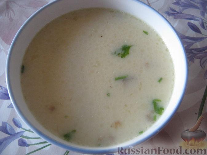 Рецепт Сырный суп по-французски