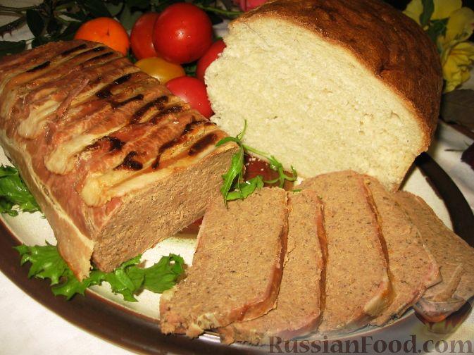 Рецепт Домашний паштет из свиной печени