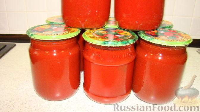 рецепт приготовления соуса томатного на зиму