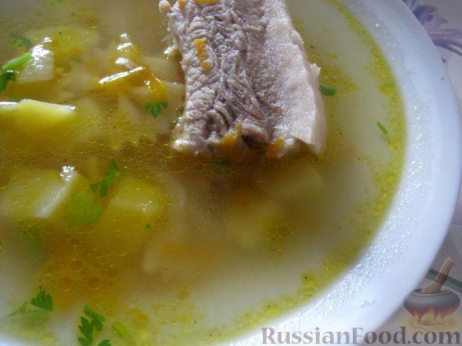 Суп из свинины с макаронами рецепты
