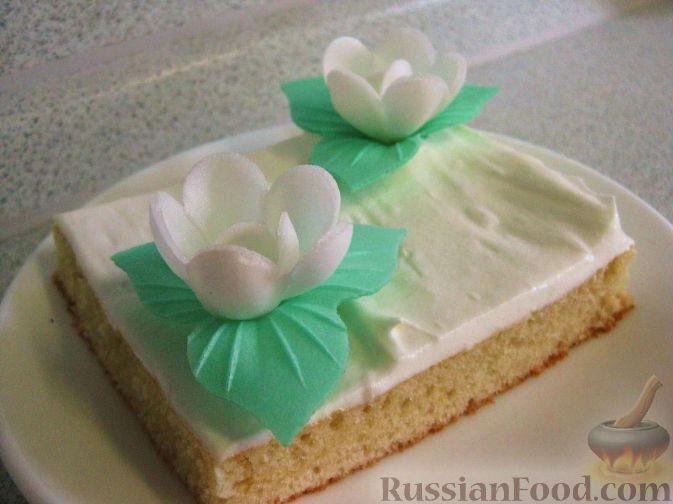 Рецепт Цветущие пирожные