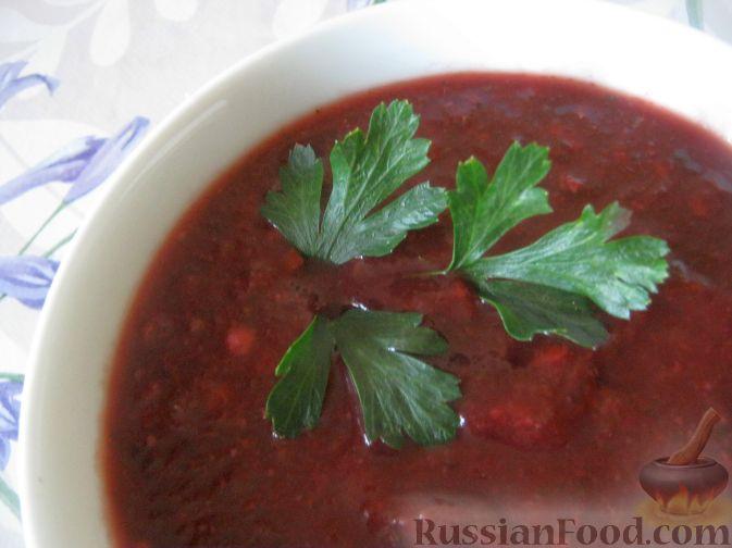 Рецепт Соус ткемали из сливы венгерки