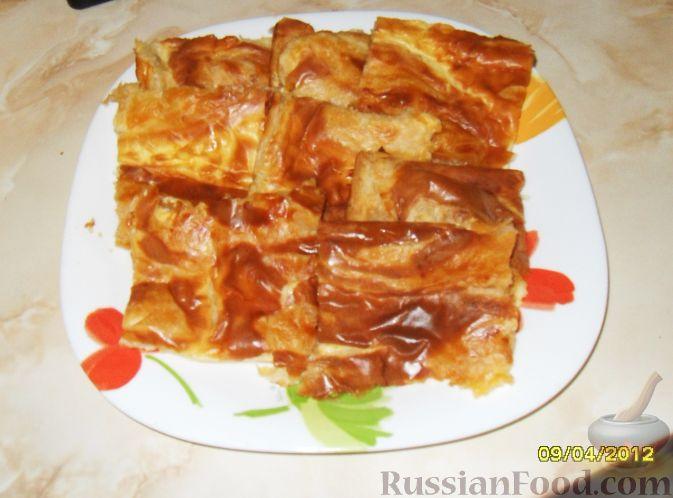 Рецепт Пиде (выпечка из слоеного теста с сыром)