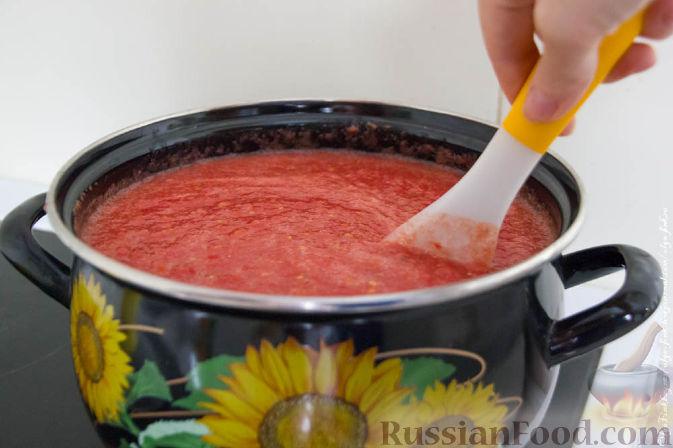 Как сделать вкусный домашний кетчуп из помидоров