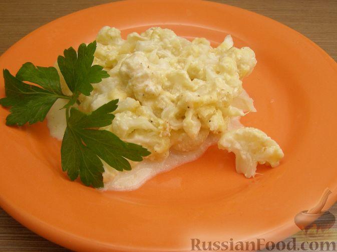 Рецепт Цветная капуста с сыром (в микроволновке)