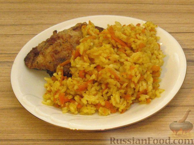 Рецепт Рис карри с морковкой