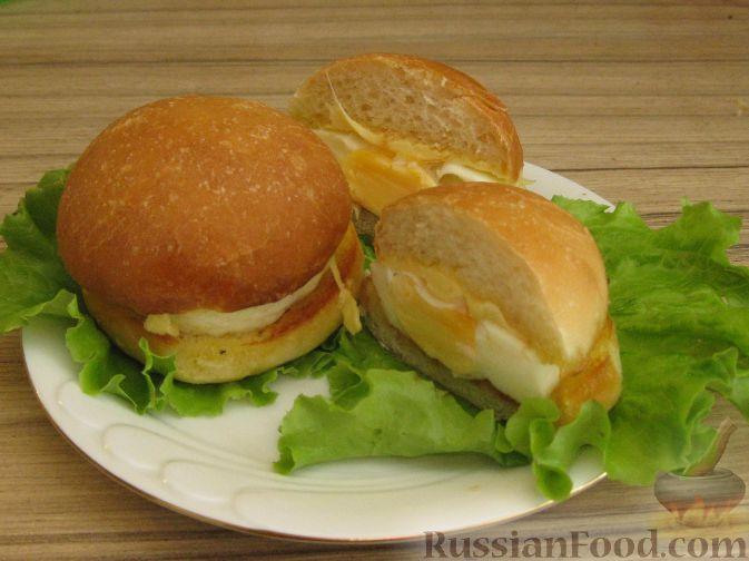 Рецепт Мини-бургеры с запеченным яйцом