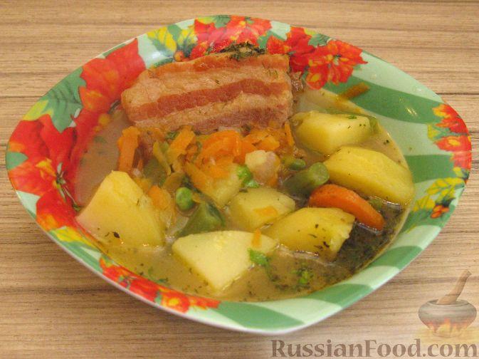 Рецепт Айнтопф со свиными ребрами