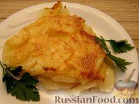 Фото к рецепту: Нежнейшая картофельная запеканка