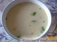 Фото к рецепту: Сырный суп по-французски