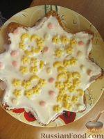 Фото к рецепту: Самый легкий рецепт бисквита