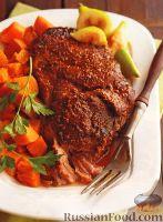 Фото к рецепту: Свинина, тушенная с бататом (в медленноварке)