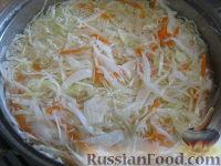 Фото приготовления рецепта: Маринованная капуста быстрого приготовления - шаг №8