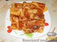 Фото к рецепту: Пиде (выпечка из слоеного теста с сыром)