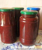Фото к рецепту: Кетчуп из слив