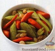 Фото к рецепту: Бланшированные овощи