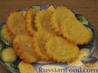 Фото к рецепту: Десертные тарталетки из творожного теста